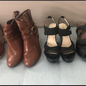 UGG clogs // Aldo pumps // other name brand shoes!